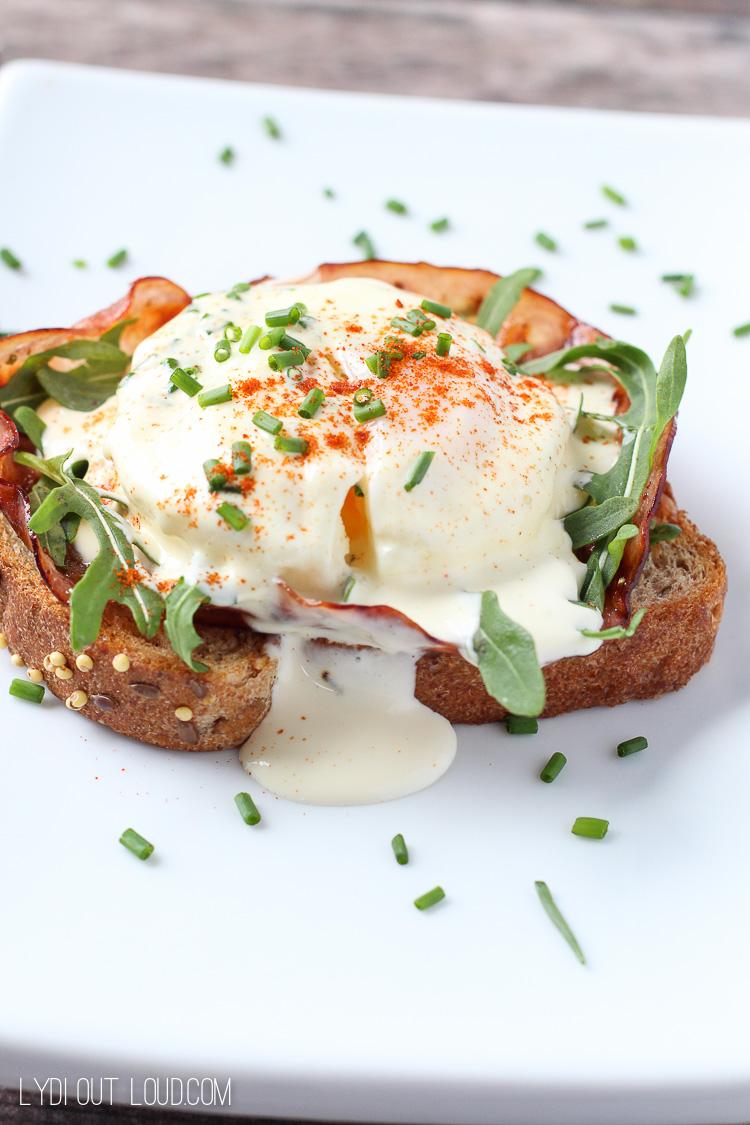 Easiest Eggs Benedict