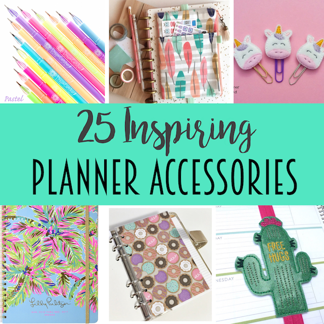 These planner accessories are so cute and creative!