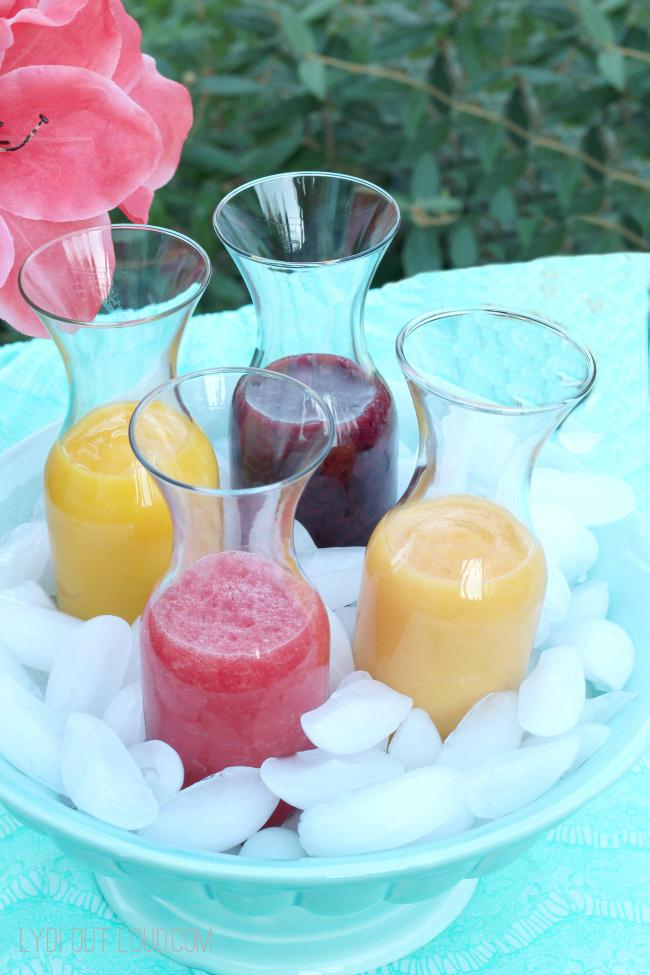 Smoothie Bar party for patio season - so fun!
