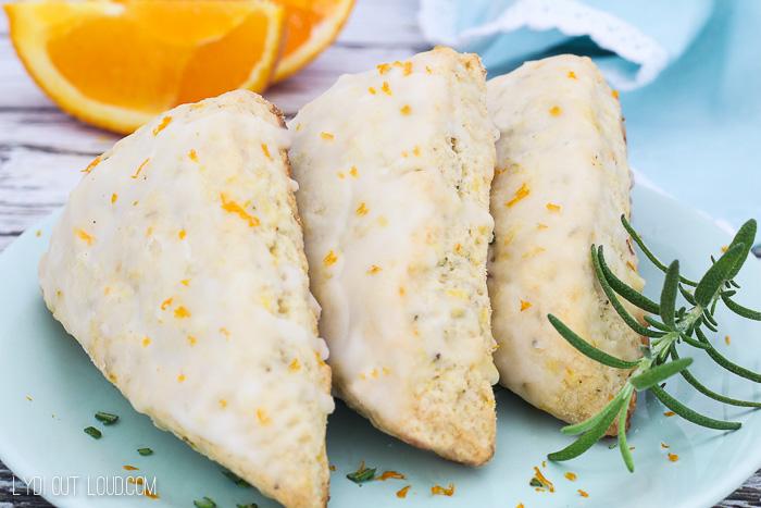 Foolproof Rosemary Citrus Scones Recipe