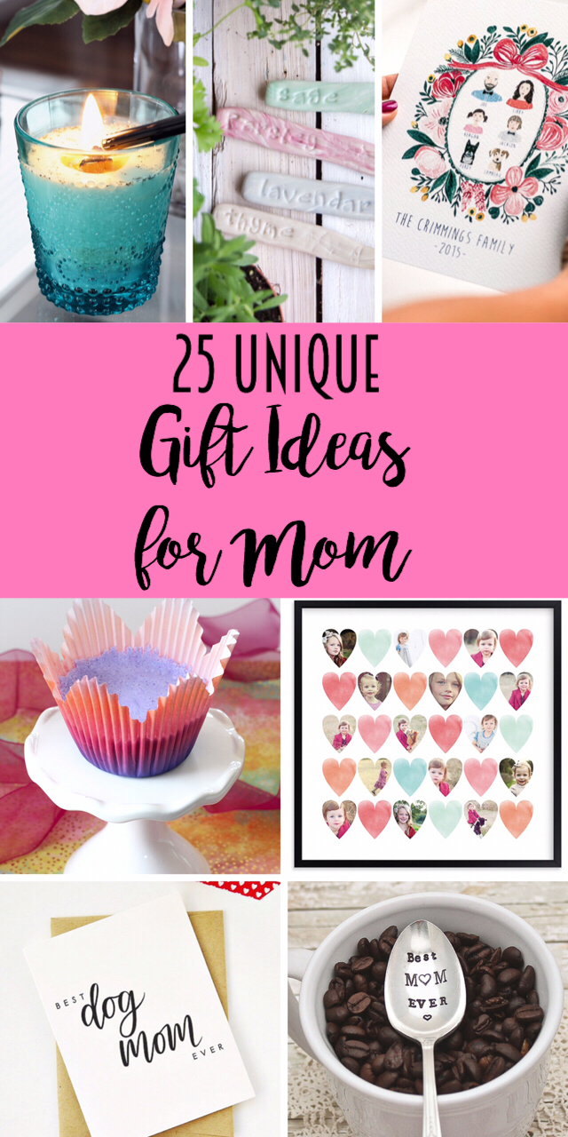 25 Unique Gift Ideas for Mom - Lydi Out Loud
