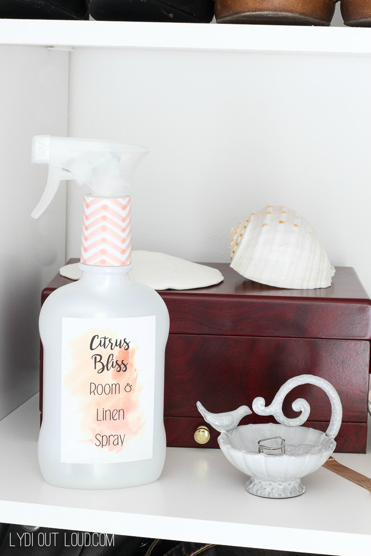 DIY Room and Linen Spray