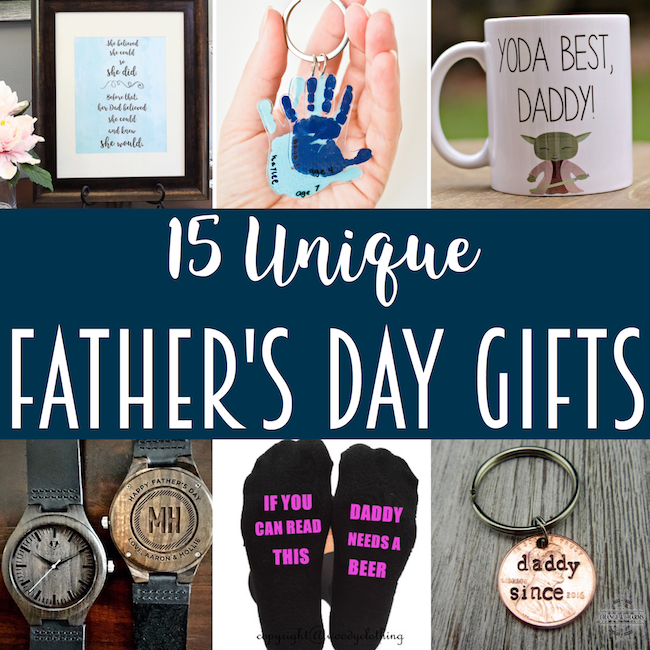 Unique Father's Day Gift Inspiration