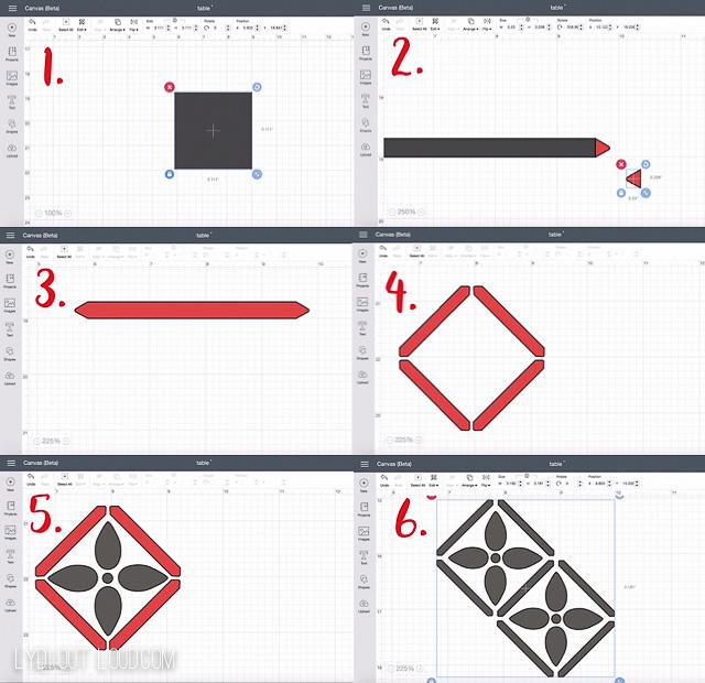 Create a Custom Stencil Design with Cricut