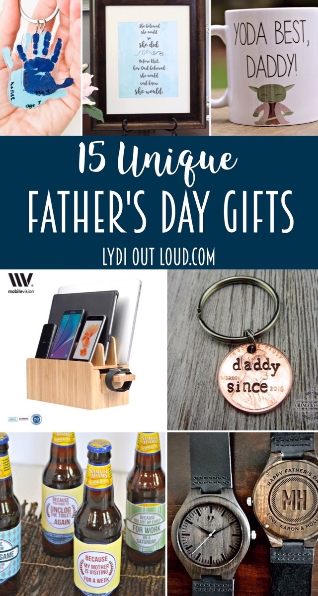 Unique Father's Day Gift Inspiration - Lydi Out Loud