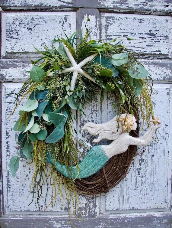 Mermaid Wreath