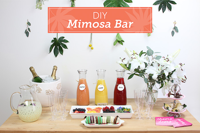 Create the Ultimate Mimosa Bar