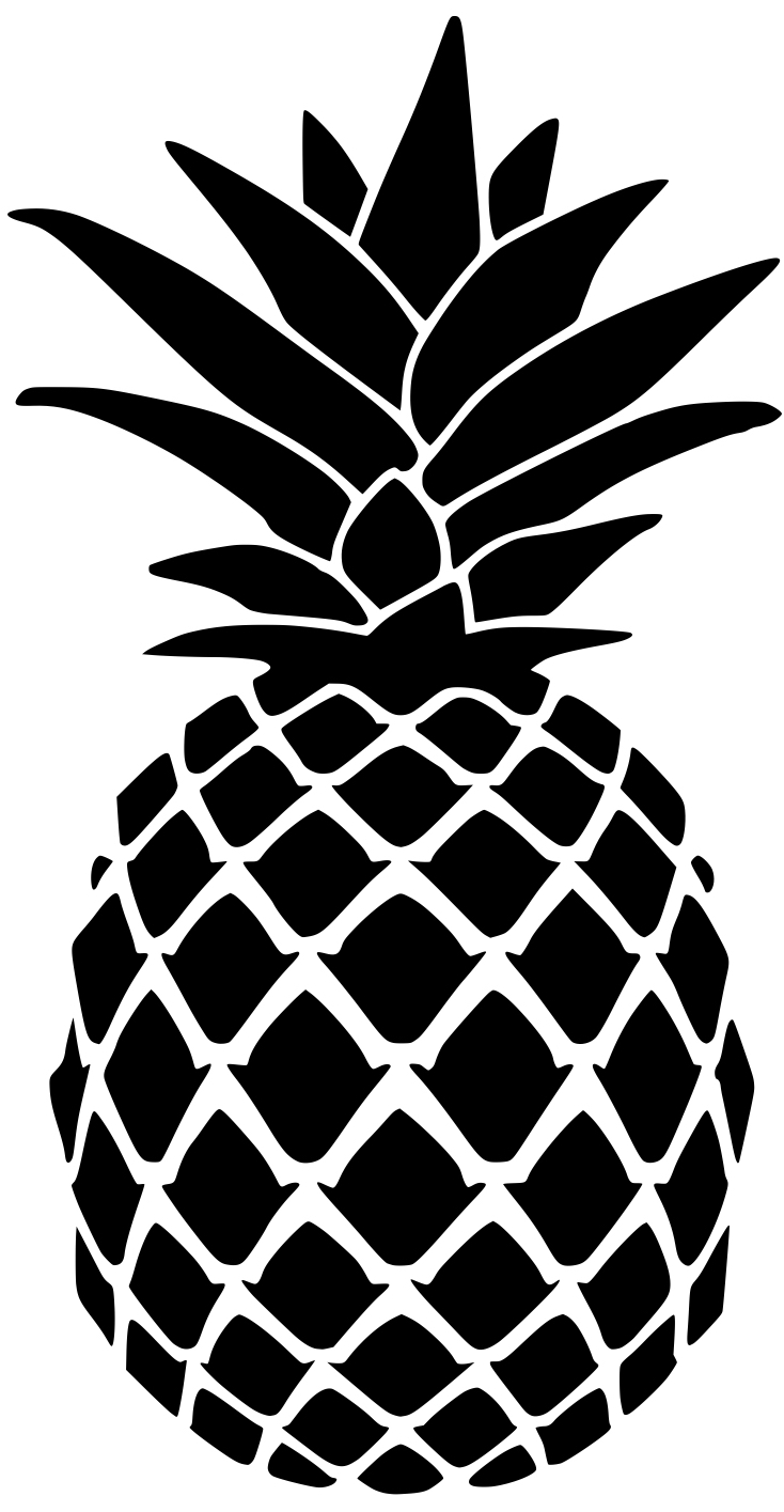 pineapple stencil for doormat lydi out loud crown vector art crown vector outline