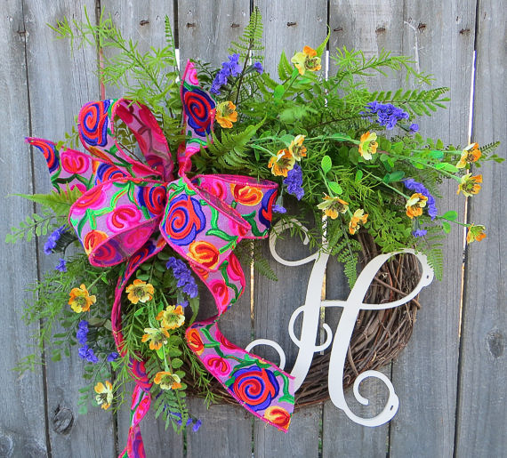 30 Stunning Summer Wreaths Lydi Out Loud