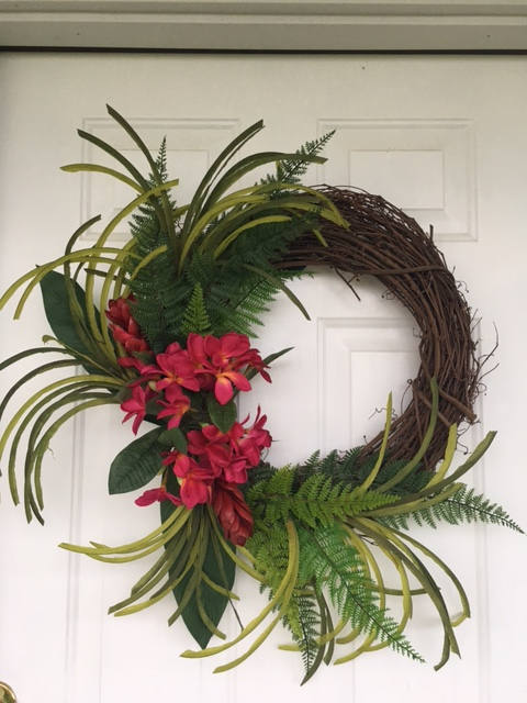 Tropical Summer Wreath