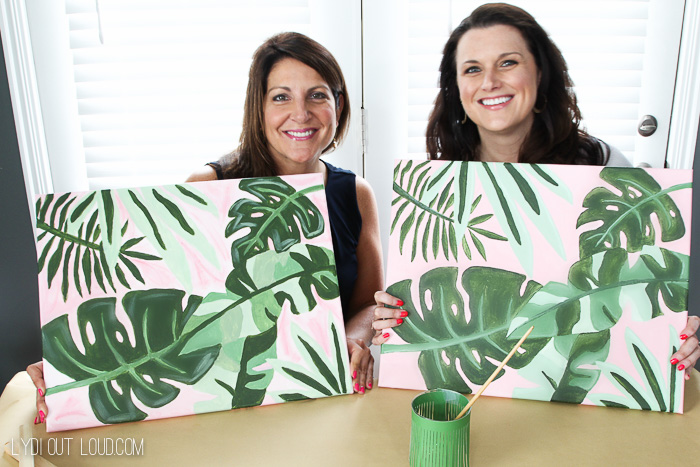 Social Artworking Paint and Sip Party