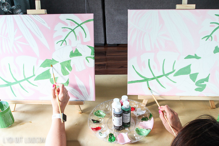 Social Artworking Paint & Sip Party