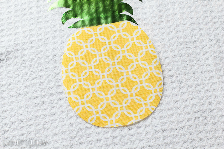 No-sew Summer Kitchen Towels