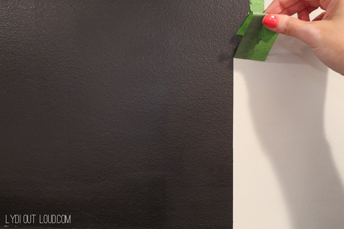 Chalkboard Accent Wall Score Board