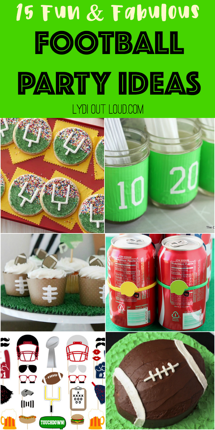 15 Fun & Fabulous Football Party Ideas