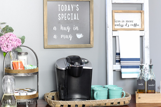 Coffee Station Styling Inspiration