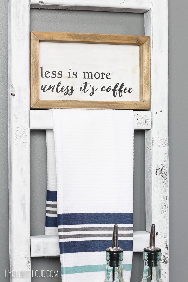 Farmhouse Coffee Station Styling Inspiration
