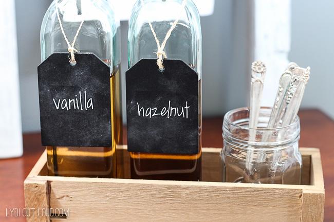 Coffee Station Decor Inspiration Ideas