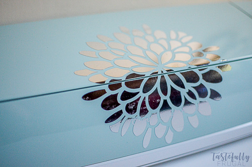How to Decorate Your Cricut Explore Air 2 - Tastefully Frugal