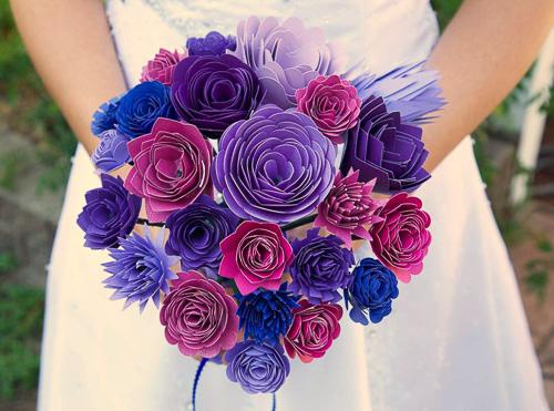 Paper Flower Bouquet - Hello Creative Family