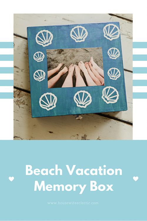 Beach Vacation Memory Box - Housewife Eclectic