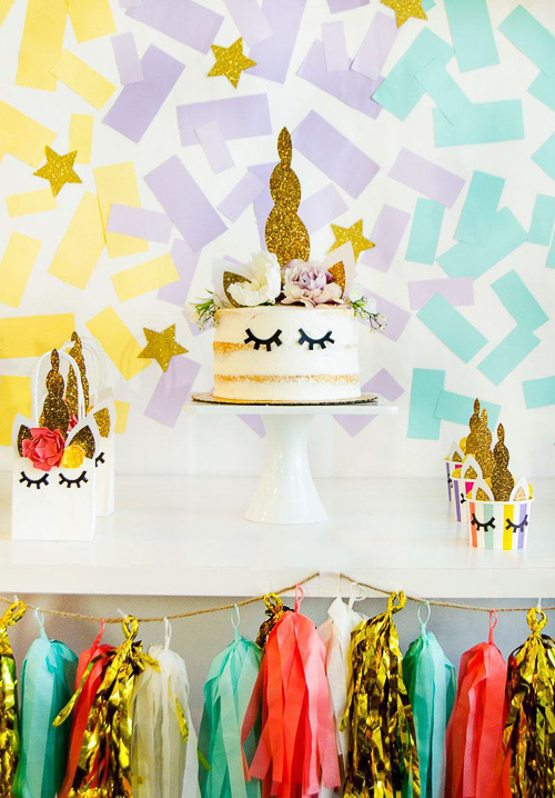 DIY Unicorn Backdrop Tutorial - Love the Day