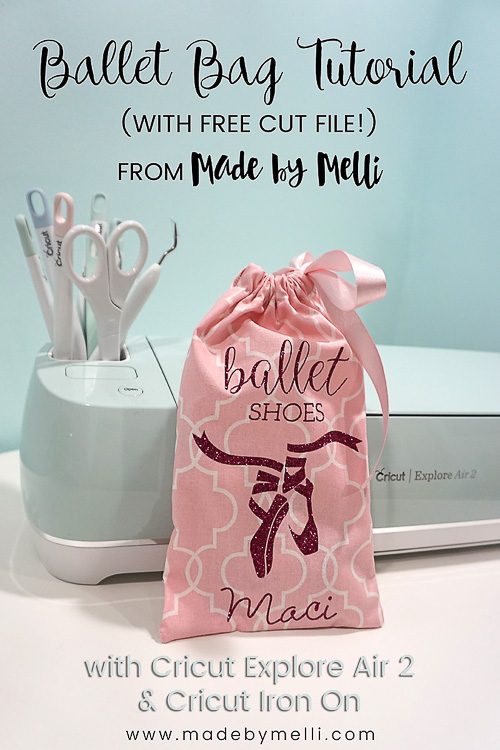 Ballet Shoe Bag - Made by Melli