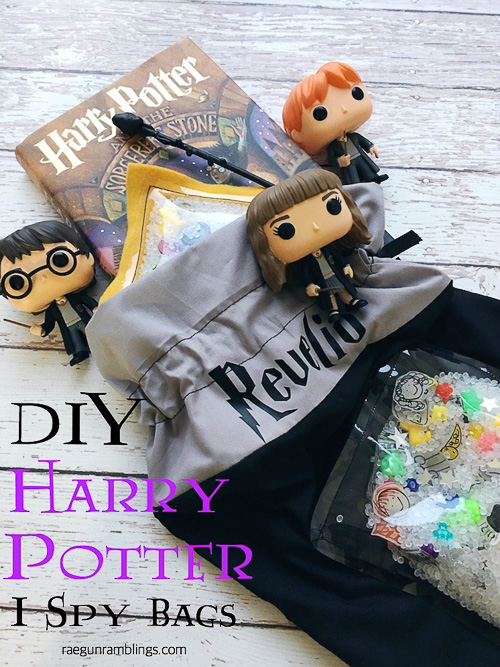 DIY Harry Potter I Spy Bags - Rae Gun Ramblings