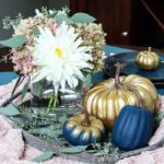 Farmhouse Glam Fall Centerpiece
