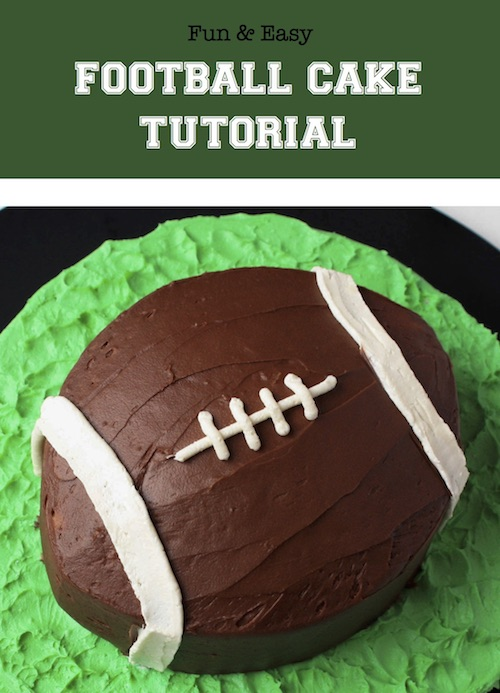 Adorable football cake!