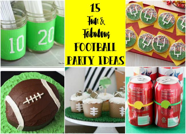 15 Fun & Fabulous Football Party and Decor Ideas