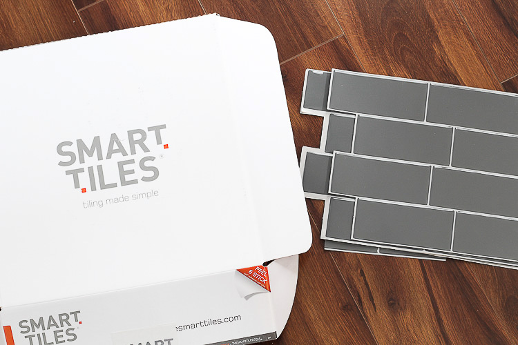 Smart Tiles Peel and Stick Tile Backsplash