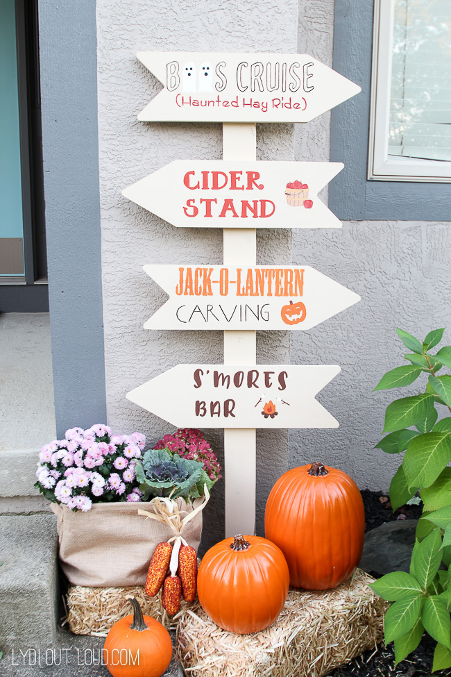 Fall Festival Sign for Fall Porch Decor