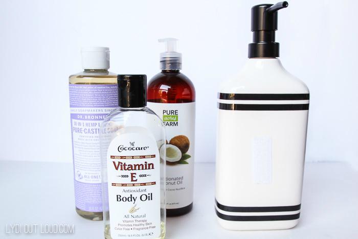 homemade hand soap supplies