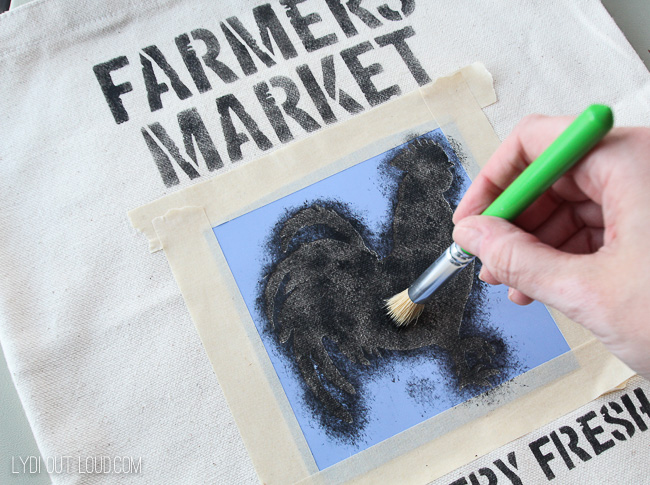 Farmer's Market DIY Tote Bag