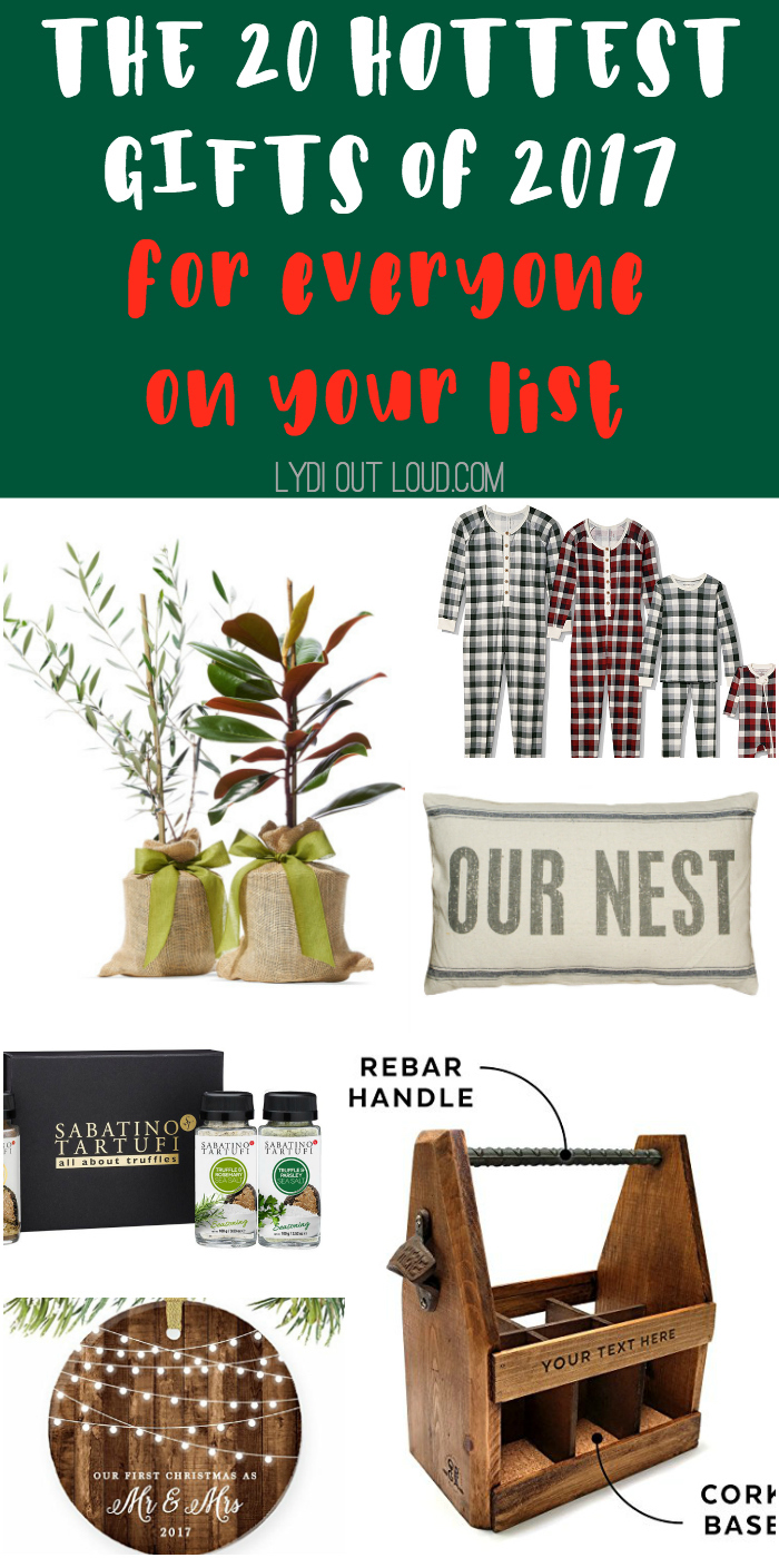 The 20 hottest gifts of 2017! #hottestgiftideas #christmasgifts #giftguide #giftideas