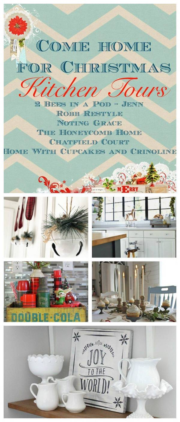 Christmas Kitchen Tours #Christmashometour #Christmasdecor