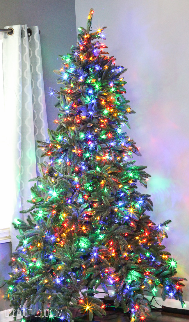 Prelit LED Christmas Tree