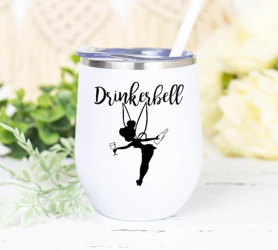 Drinkerbell Wine Tumbler Glass