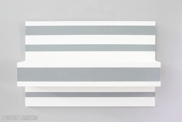 Perfectly painted stripes