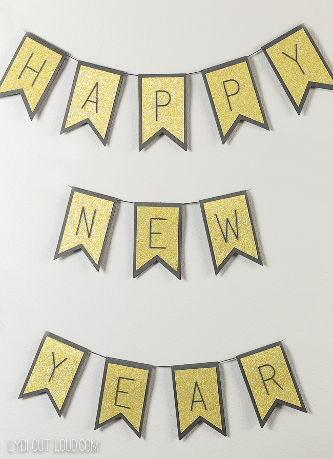 Happy New Year Party Banner