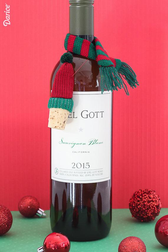 Knit Hap Wine Stopper Wine Accessory Gift Idea
