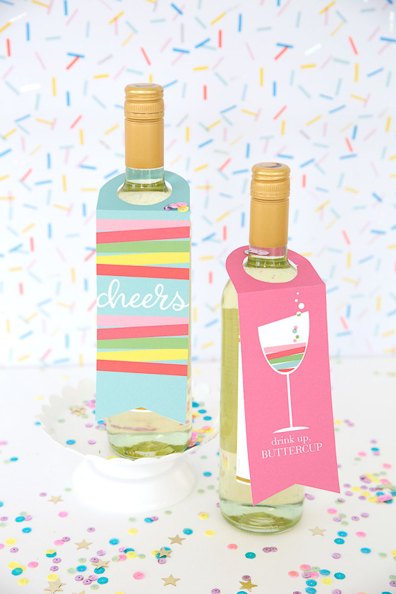 DIY Printable Wine Tags