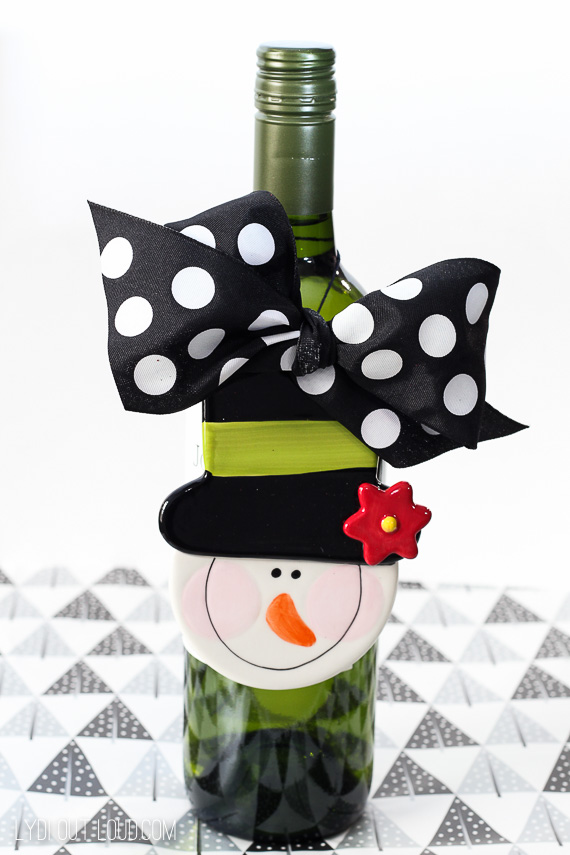 Ornament Wine Bottle Tag