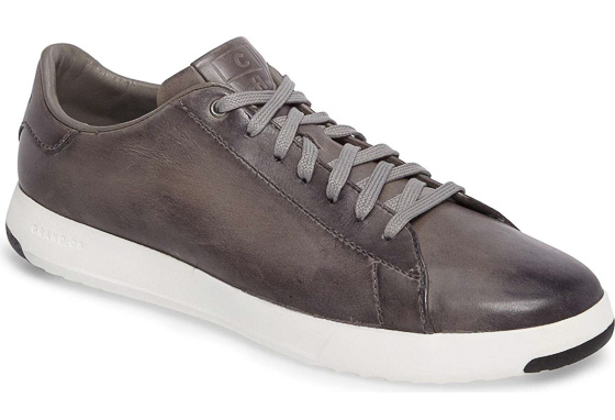 Leather Cole Haan sneakers #3yearanniversarygifts #anniversarygifts #leathergifts #giftsforhim