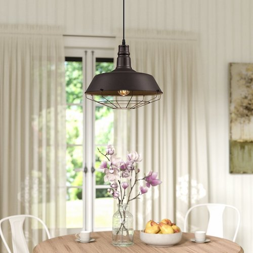 Farmhouse Industrial Light