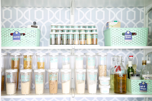 Pantry organization - Just a Girl and Her Blog