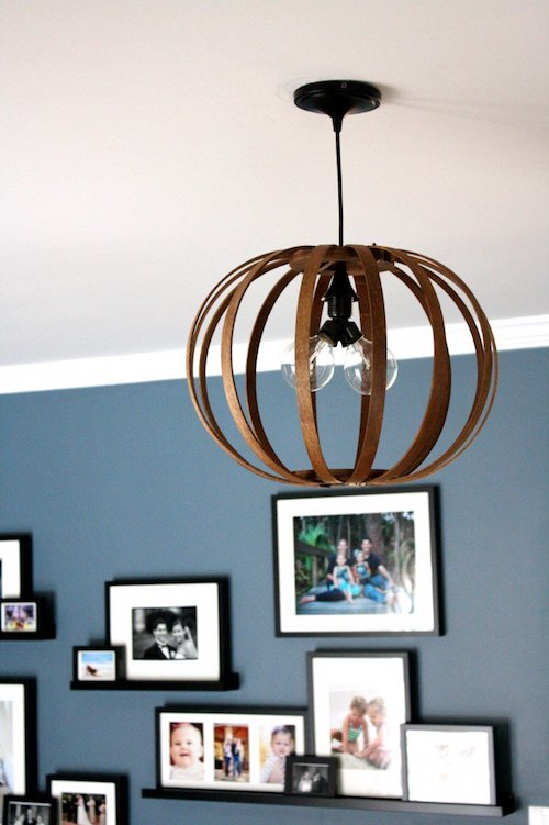 West Elm Knock-off Bentwood Pendant