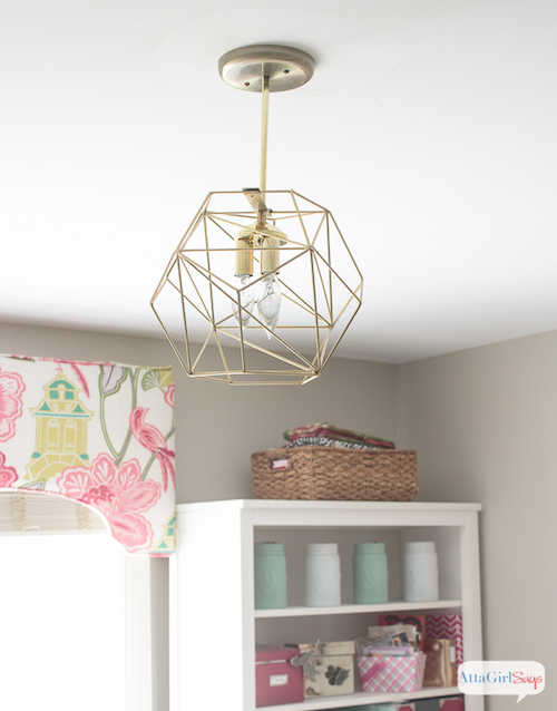 diy-brass-geometric-globe-pendant-light-Atta Girl Says