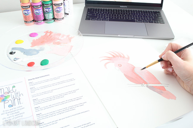 Make with Paint Cockatoo
